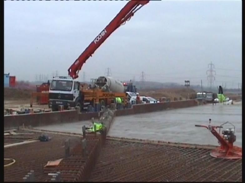 Concrete Placement to the 3rd Pour