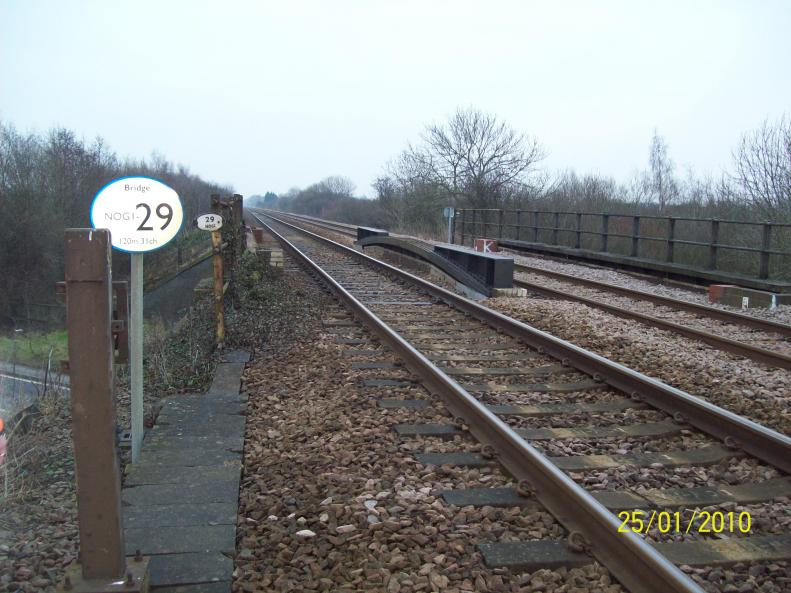Existing Structure View at track level