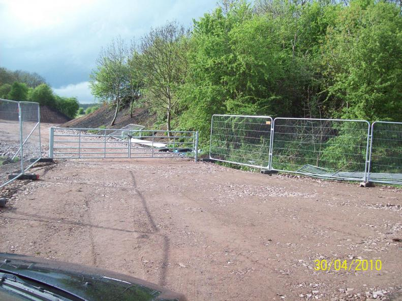 Access Gate improvements - new gate installed