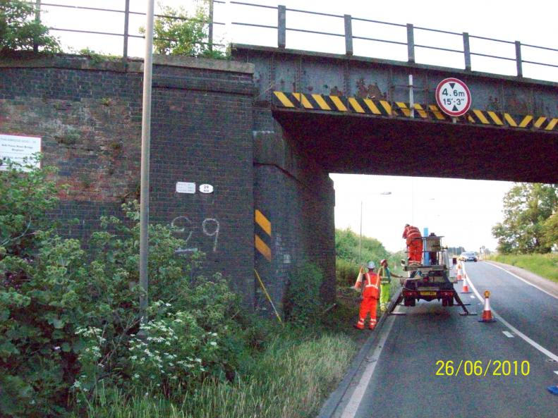 Birse Rail carried out a survey of the Existing Structure