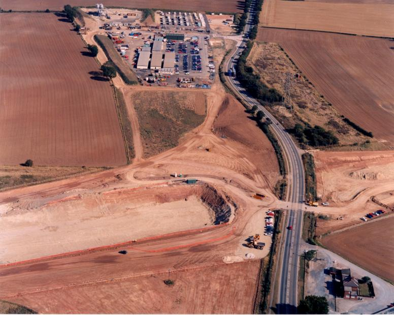 Lumby Leys + site compound