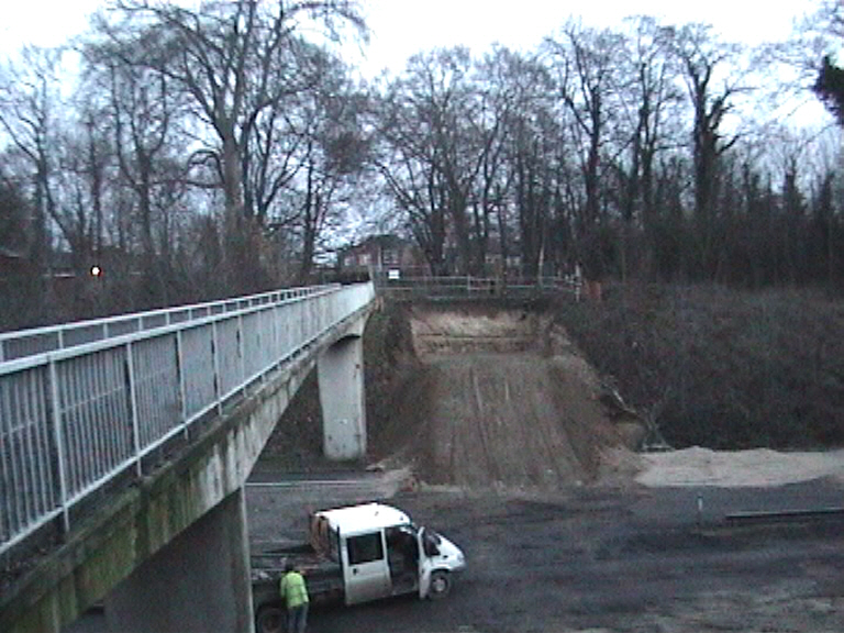 Carriageway protection put down