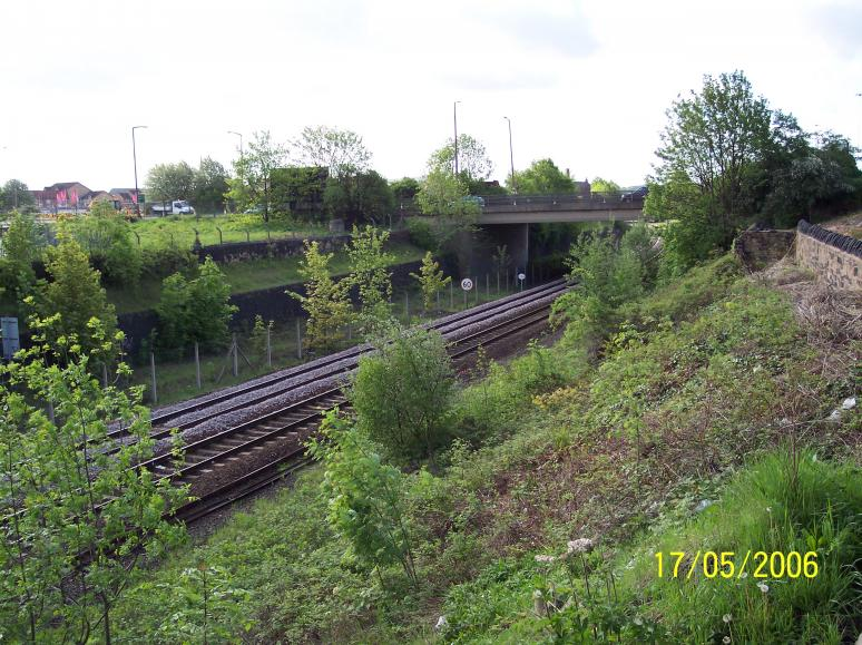 View on the location of the Proposed North Bridge