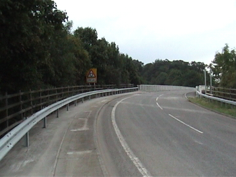 Bridge open to Traffic Sep 2005