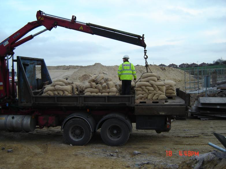 Sand Bags delivery