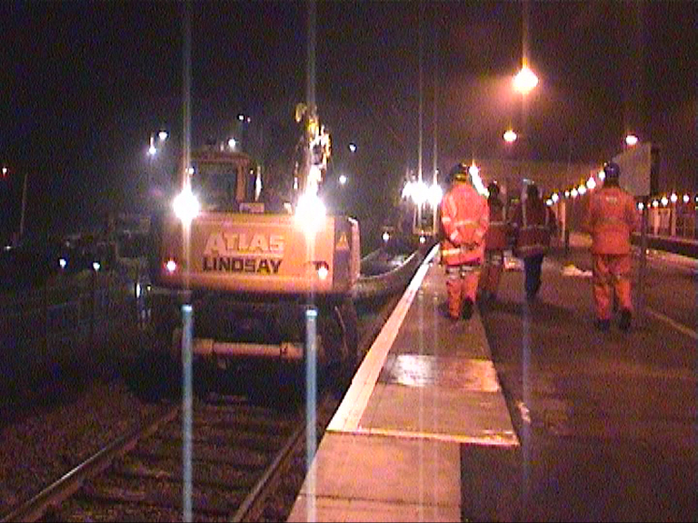 RRV's Moved the track onto the Platform