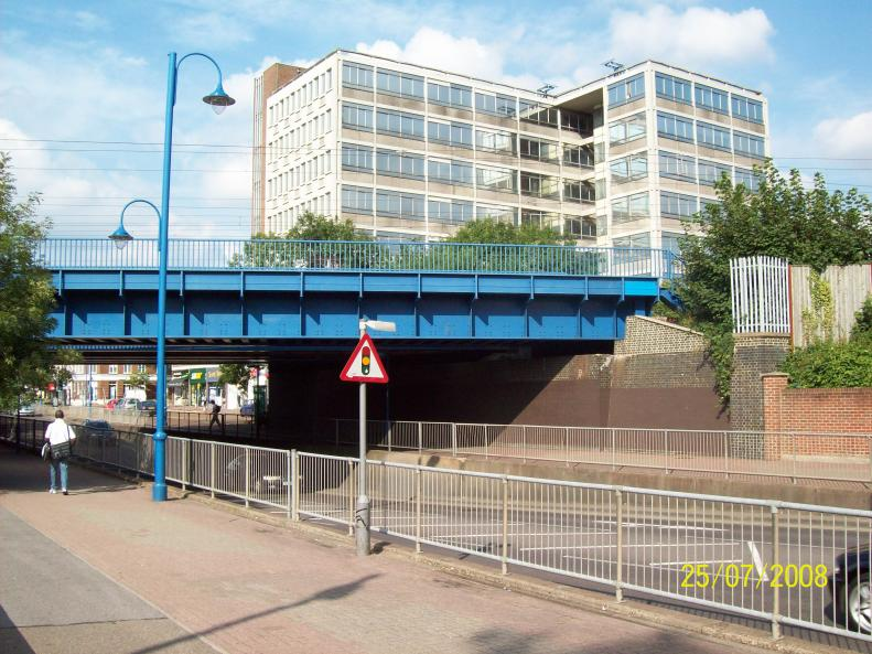Bridge 2008 finished job from the high street