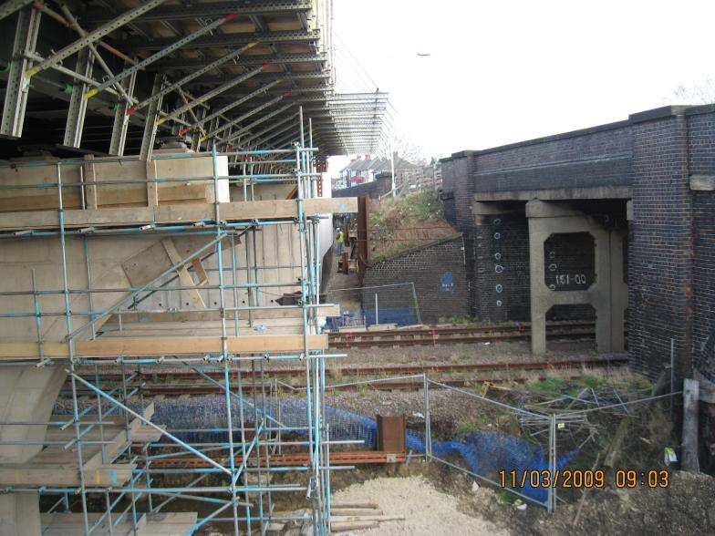 New structure under construction.