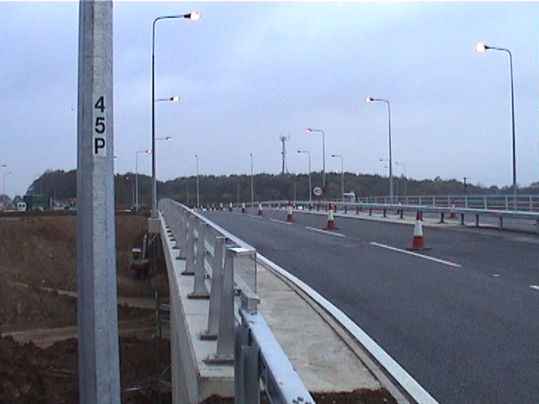New bridge and roundabouts open to traffic
